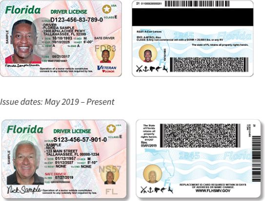 Florida Announces New Florida's Driver's License with New Security Features  for 2019 - Jaime Suarez